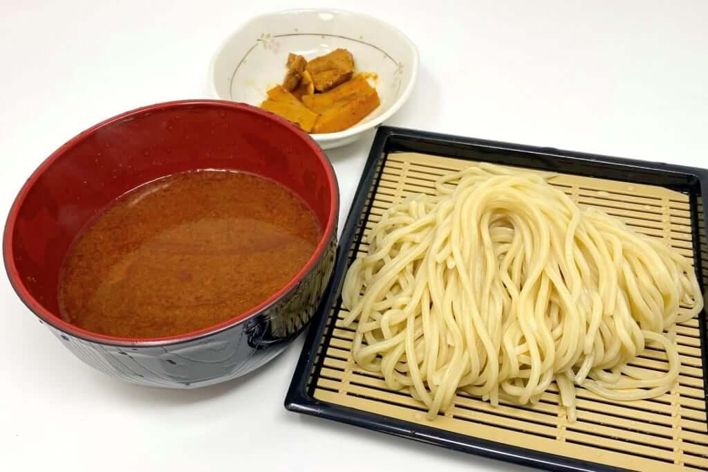 盛り付ける_つけ麺専門店三田製麺所_灼熱つけ麺_2020-11-17