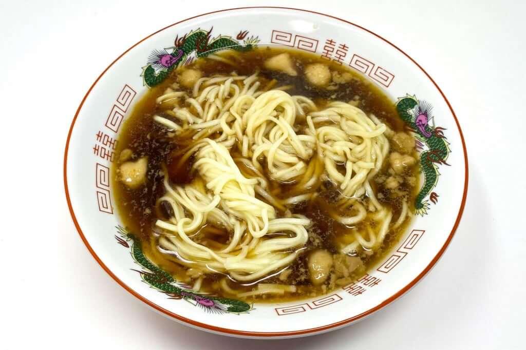 麺を入れる_尾道ラーメン_喰海_尾道ラーメン_2020-11-14