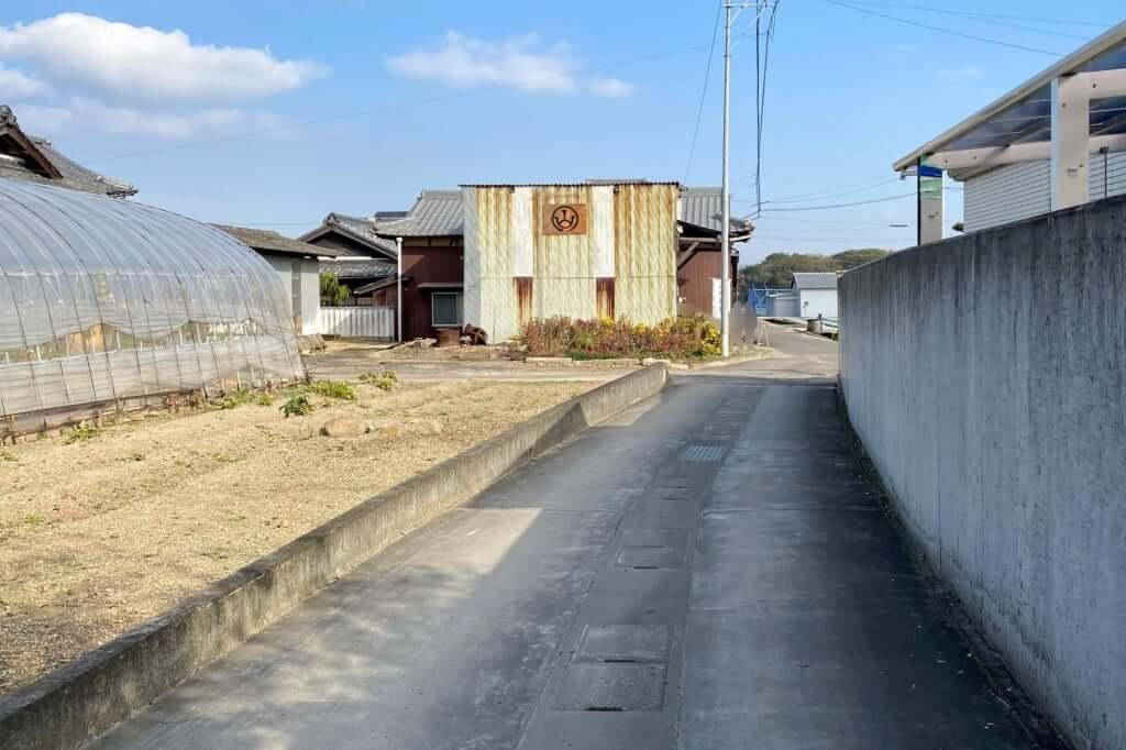 徒歩移動_讃岐麺処 山岡_2020-12-07