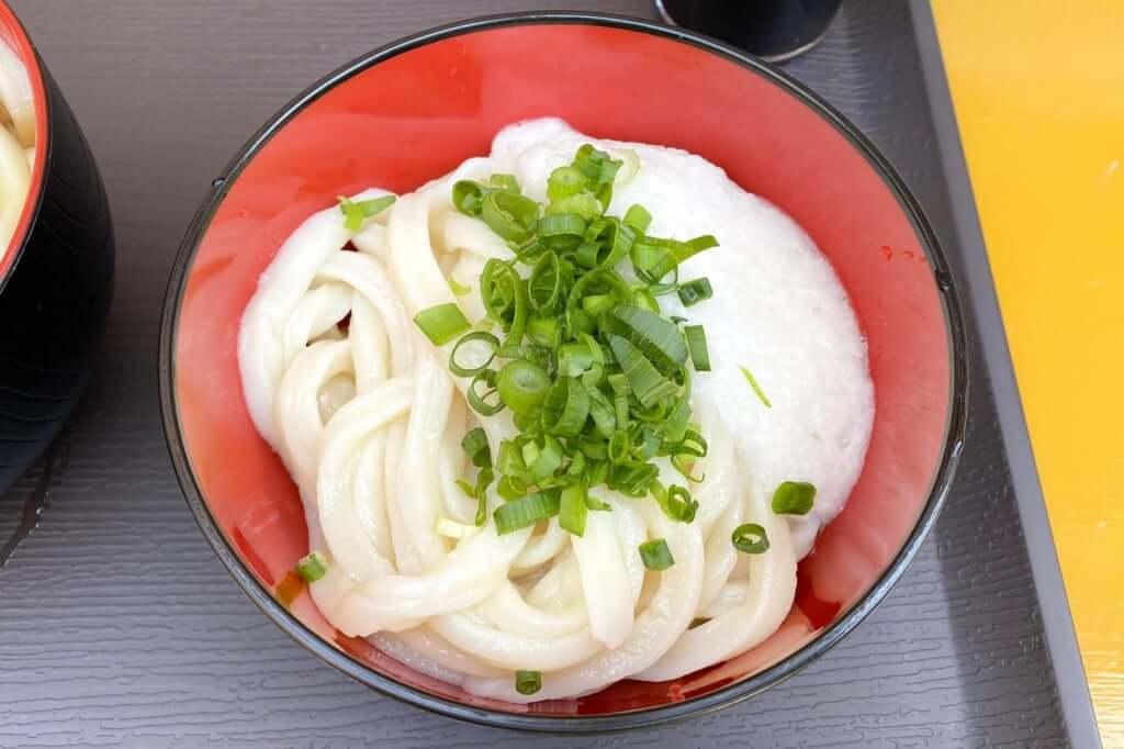 山芋醤油うどん_讃岐麺処 山岡_2020-12-07