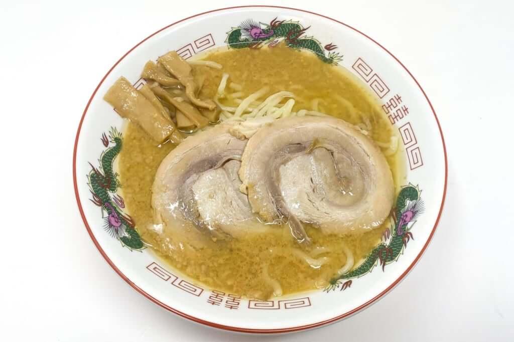 具材を載せる_超ごってり麺ごっつ_ごってりみそラーメン_2021-01-10